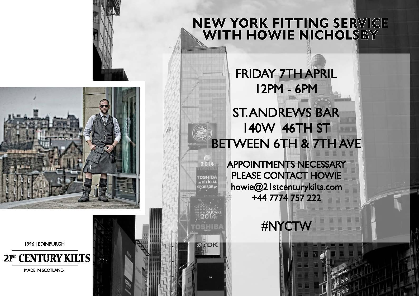 Howie new york tartan week for 140 broadway 46th floor new york ny 10005