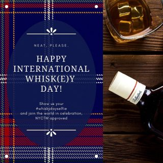 Happy International Whisk(e)y Day! Whether you distill, distribute, or simply drink let's enjoy a dram together. Tune in for a special Facebook Live happy hour today at 7pm EST with NYCTW president Kyle Dawson and US Brand Lead for @Aberlour Single Malt Scotch Whisky, Andrew Weir! Slàinte Mhath!   #internationalwhiskyday #whisky #whiskygram #dram #whiskylife #scotland #scotlandtravel #distillery #whiskydayselfie #nyctw