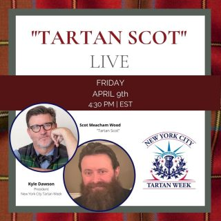 Join @tartanprez and designer @scotmeachamwood for an Instagram live discussion today at 4:30pm ET. Kyle and Scot will be chatting about everything from Tartan Week festivities to tartan-inspired home design. #nyctw #nyctw2021   About Scot:  A Southerner with a deep-rooted connection to Scotland, Scot Meacham Wood is renowned for his timeless design and magnetic personality. Since establishing his firm in 2001, Scot Meacham Wood Design, Scot has become an interior design icon, showcasing commercial and residential projects across the United States and developing a captivating online presence. Explore more at www.scotmeachamwoodhome.com